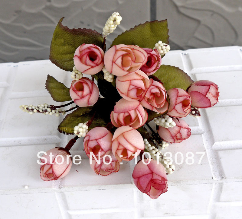 Silk Flower Bouquet Display Flower Home Decoration items They looks like Real Flowers !!