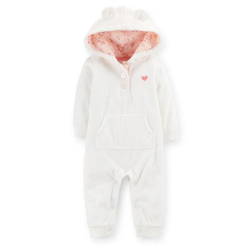 Carter S Baby Girls Baby Boys Hooded Microfleece Jumpsuit