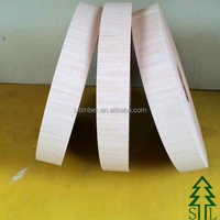 Natural Veneer Edgebanding of Various Popular Species with Very Cheap Prices for Sale! Veneer Edgebanding with Reliable Quality!