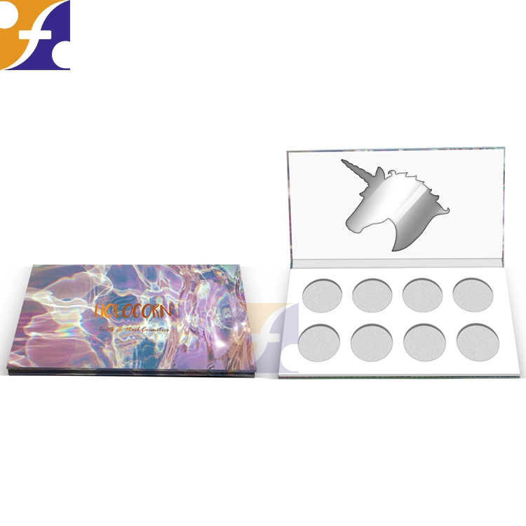 Economic and Reliable magnetic empty paper compact make up palette