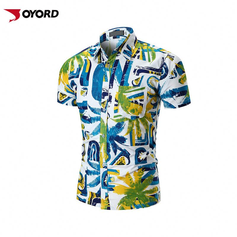 Gender And Adults Age Group Floral Hawaii <strong>Shirts</strong> For Beach Clothes Men