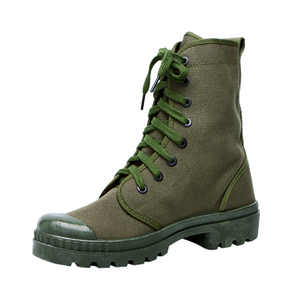 27b253b516f China Xinxing cheap boots military green canvas combat amry boots rubber  outsole for soldiers MB05