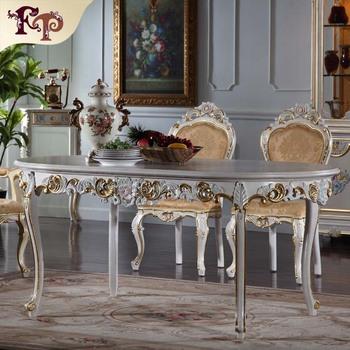 Table meilleur prix chine italien salle manger meubles classique en bois de - Salon de luxe italien ...