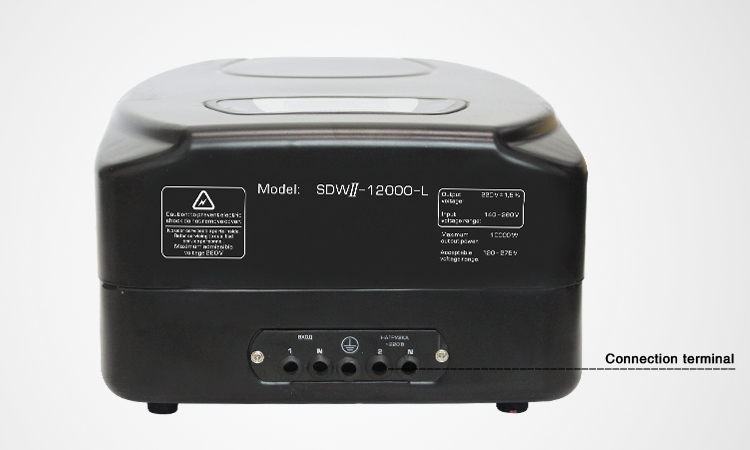 Servo 5000 watts voltage stabilizer 220v ac