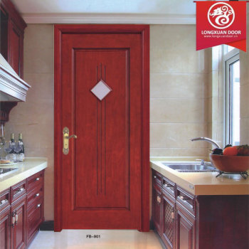 Kitchen Bathing Room Dining Room Entry Wooden Glaze DoorsSingle