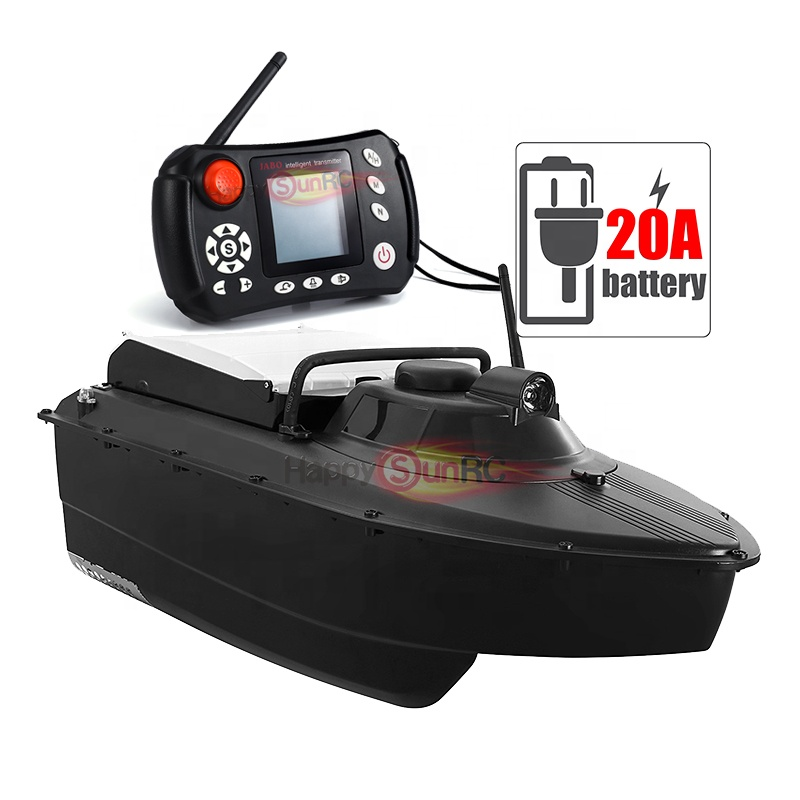 Germany 2019 Jabo 2 fish finder sonar fishing gps plastic abs bait boat with 20A battery
