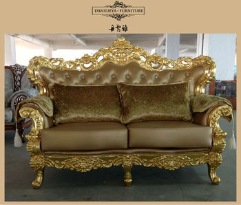 American Style Fabric Sofa Sets Home Design Gold Couch