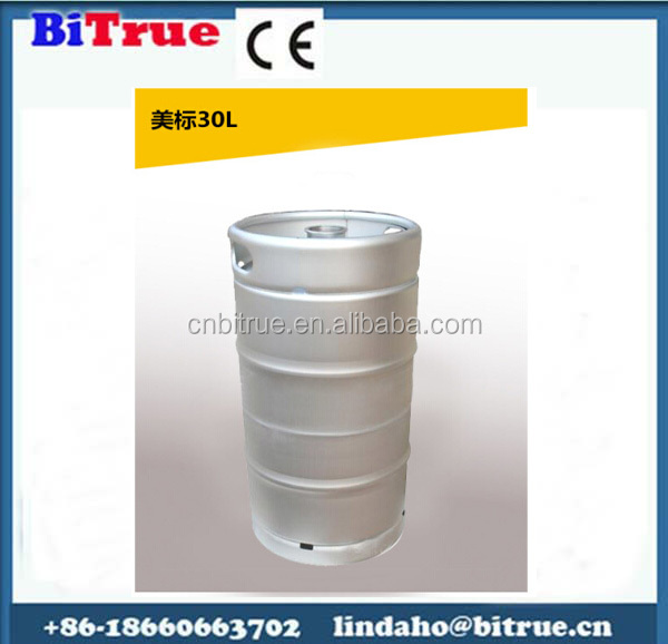 High quality Steel Material Barrel beer keg 30 l