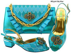 High Heel Italian Shoe And Bag Matching Set 7a62b1ba55c1