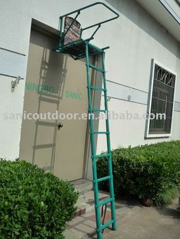 New Telescopic Aluminum Ladder Stand Folding Hunting Tree