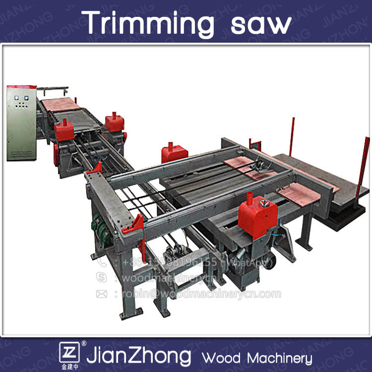 1220*2440mm trimming saw/ plywood edge cutting machine /plywood double saw machine