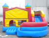 Custom party combo inflatable bouncer with slide for children game, China factory