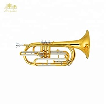 Chiave di bb corpo in ottone cupronickel valvole marching <span class=keywords><strong>trombone</strong></span>