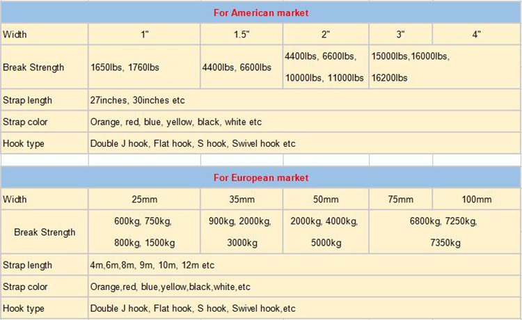 Groothandel lading sjorren 5 ton 10 m Lifting materiaal intrekbare Ratchet Tie Down auto riem Bandjes met grip