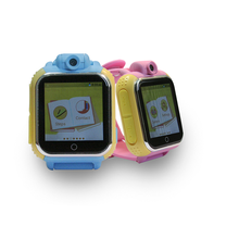 Smallest 3G GPS watch tracker for kids with microphone