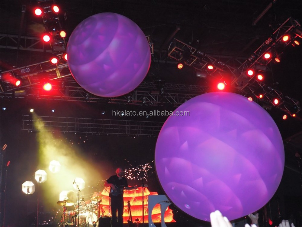 Ballonnen Met Licht : Outdoor reclame gebruikt logo afdrukken led helium ballonnen licht