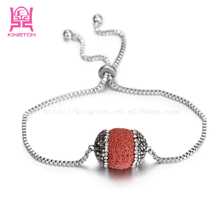 unique design fashion lady stainless steel bracelet jewlry wholesale