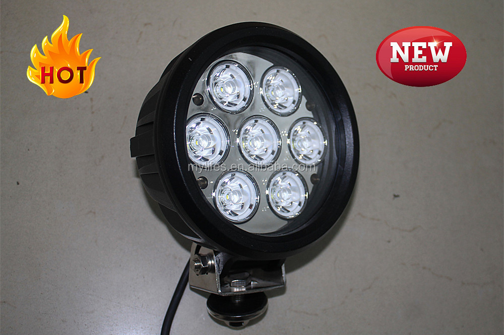 6inch 70w led working light for offroad trailers led truck work lamp light 70w 4x4 accessories led driving lights 6'' 12V 24V