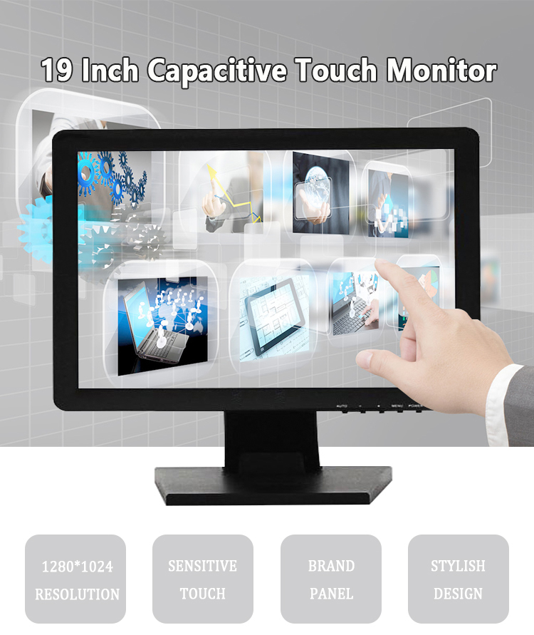 Cheap 19 monitor Touch screen  Monitor fo POS system Machine