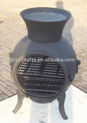 Big Mouth Cast Iron Chiminea   Buy Chiminea,Ourdoor Fireplace,Garden Heater  Product On Alibaba.com