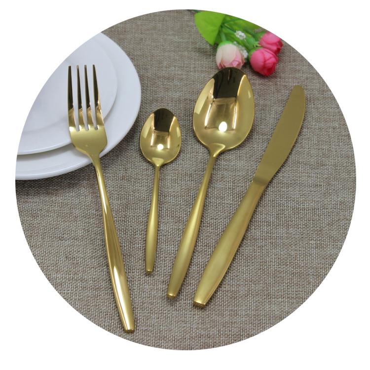 Restaurant tablewares poon fork knife stainless teel cutlery set фото