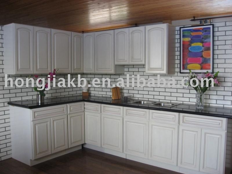 Antique blanc armoires de cuisine armoire de cuisine id de for Armoire de cuisine antique