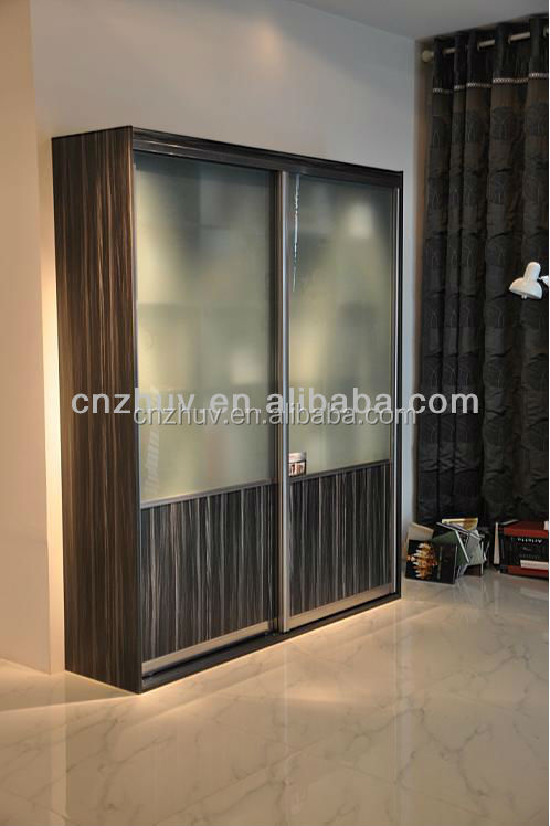 colorful MDF sliding wardrobe door designs