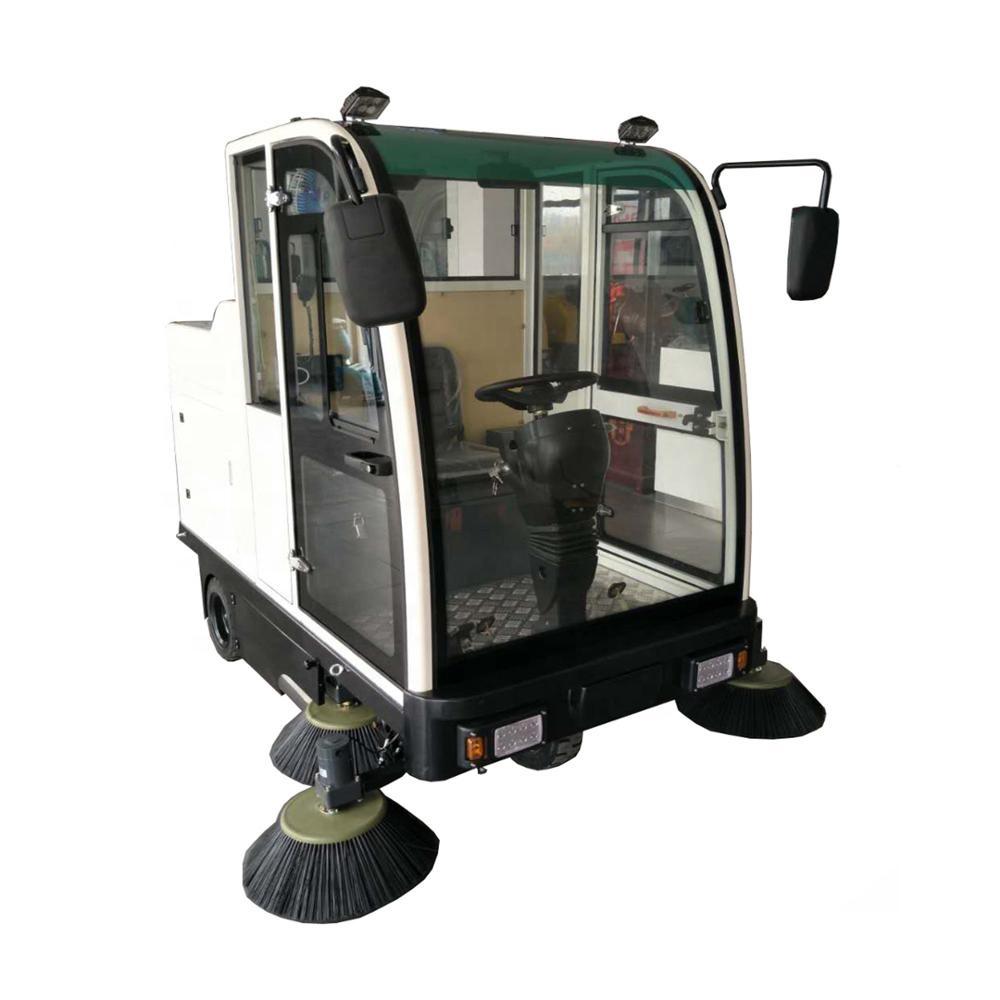 vol-2000 fahrt auf industrielle elektrische boden kehrmaschine