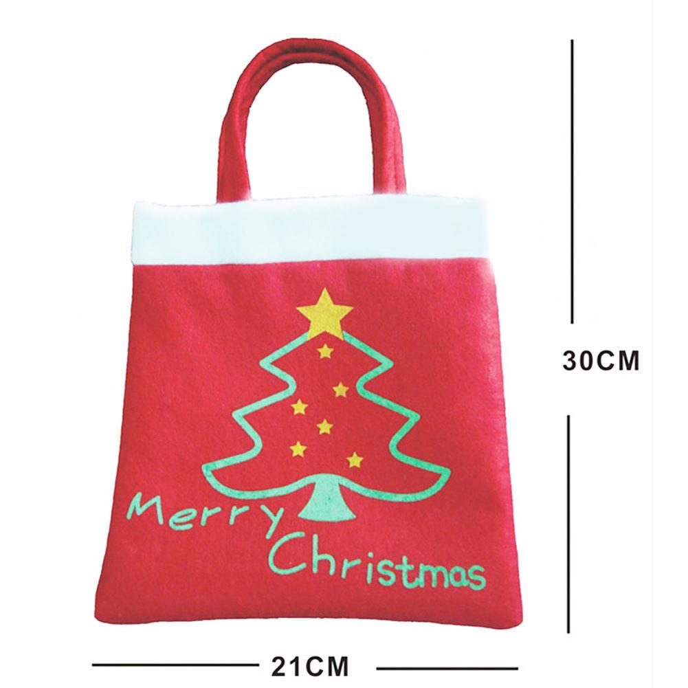 f5e37dde31 Kvalitní vánoční textilní taška vysoké kvality se stromečkem