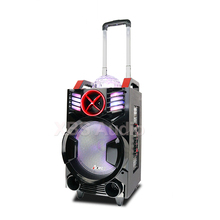 Manufacture 8'' 12V Active Trolley speaker with wireless microphone