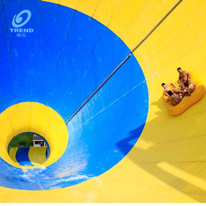 Funny water slides pipe manufacturers in china, water slide for adult factory