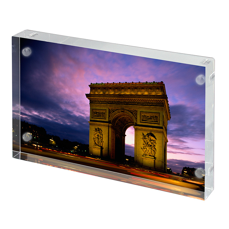 Wholesale high quality desktop stand 4*6 acrylic photo frame
