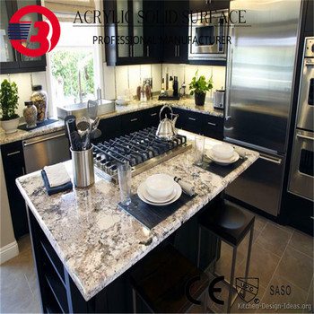 Exceptional Assembled Laminate Polyester Resin Solid Surfaces Acrylic Kitchen Benchtop  Countertops