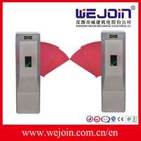 Automatic Flap Barrier Gate, barrier gates With Widen Flap and Safe Internal Construction Design For Access Control System