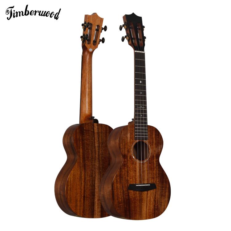 all solid acacia ukulele  enya ukulele glossy finishing all solid koa ukulele ready to ship, Customer's request