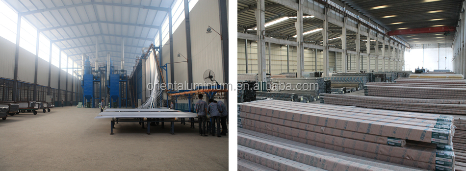 Factory price top quality aluminium stair balcony deck railing for Canada&USA market