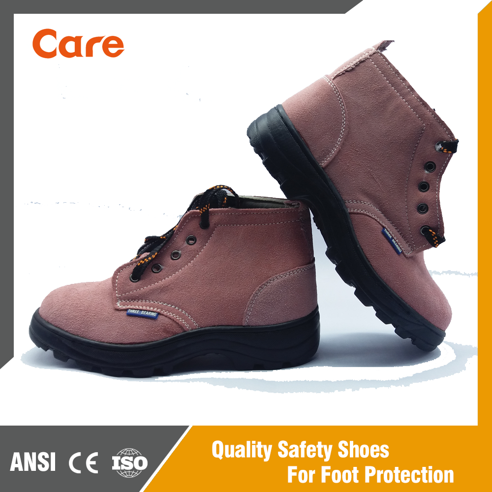 CE Lightweight Leathe Construction Industrial Safety Shoes