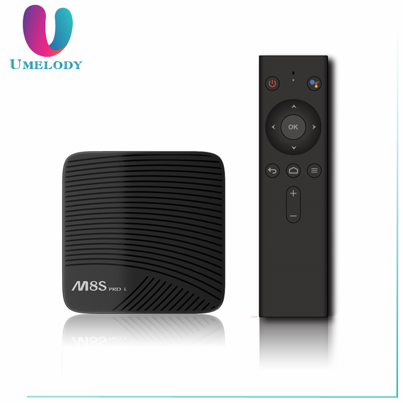 Factory price support OEM/ODM streambox m8s pro l S912 android 7.1 Tv box DDR4 3g 16g 3g 32g H96 Pro Octa Core Tv Box