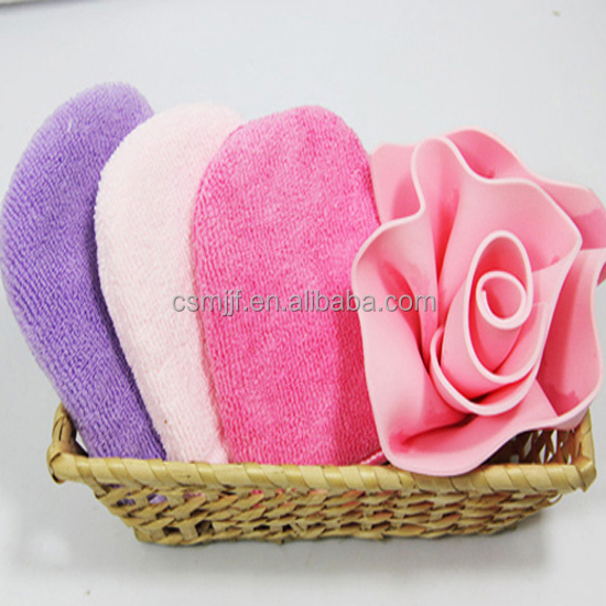 Makeup Remover Microfiber Cosmetic Glove/Facial Mitts