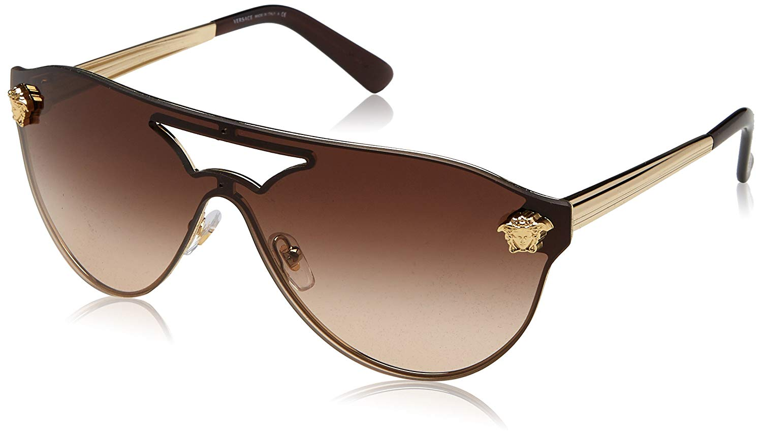 134327139dc76 Get Quotations · Versace Womens Sunglasses (VE2161) Metal