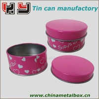 Gifted food tin can box oem