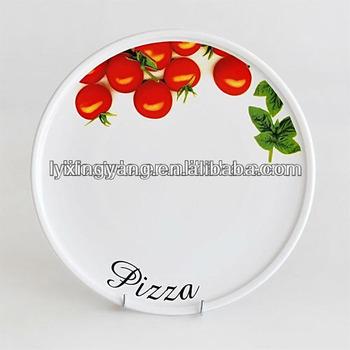 italian round ceramic pizza plate design 12 inch ceramic pizza plate flower painting design  sc 1 st  Alibaba & Italian Round Ceramic Pizza Plate Design12 Inch Ceramic Pizza ...