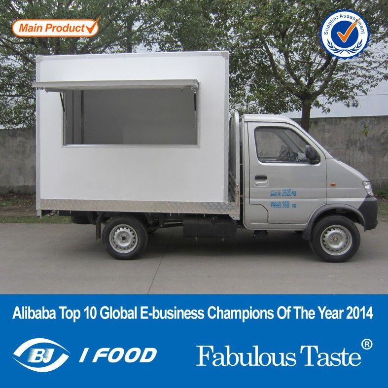 2014 New FT-27 mobile kitchen food van/mobile food vans/Vending machine