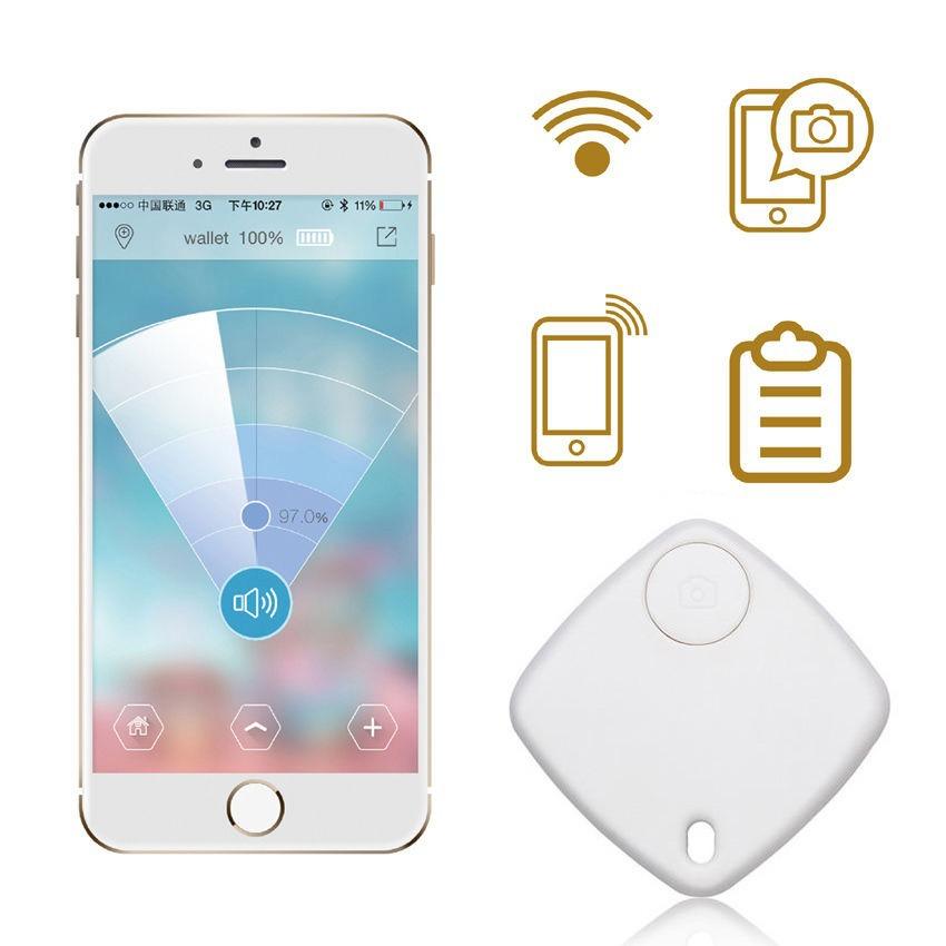 Bluetooth трекер дети мешок бумажник ключ домашнее животное Smart искатель GPS для iPhone Android 2 цвета