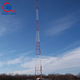 3 legged self supporting telecommunication steel pole tower
