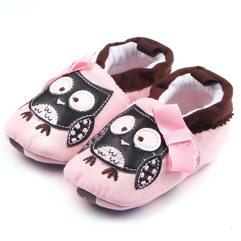 Hot selling funny cute cartoon design baby shoes 2018