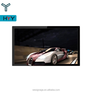 70 inch Wall Hanging 4K HD Monitor Naked Eye 3D Advertising Display LCD