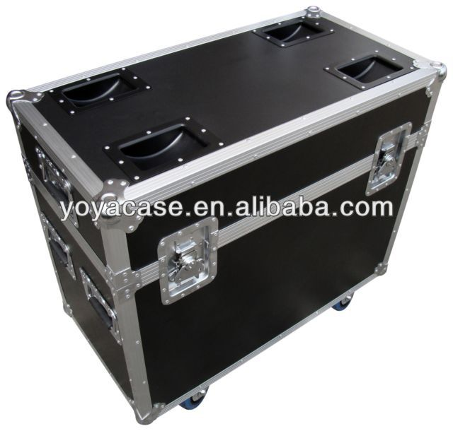 Twin Moving Head Flight Case for disco lights