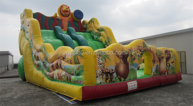 GMIF SiBo Fun Theme Inflatable Water Park Slides For Kids & Adult Enterrtainment