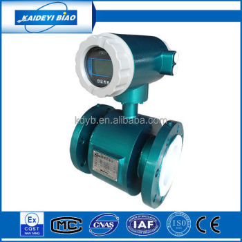 intelligent dn100 magnetic flow meter china supplier